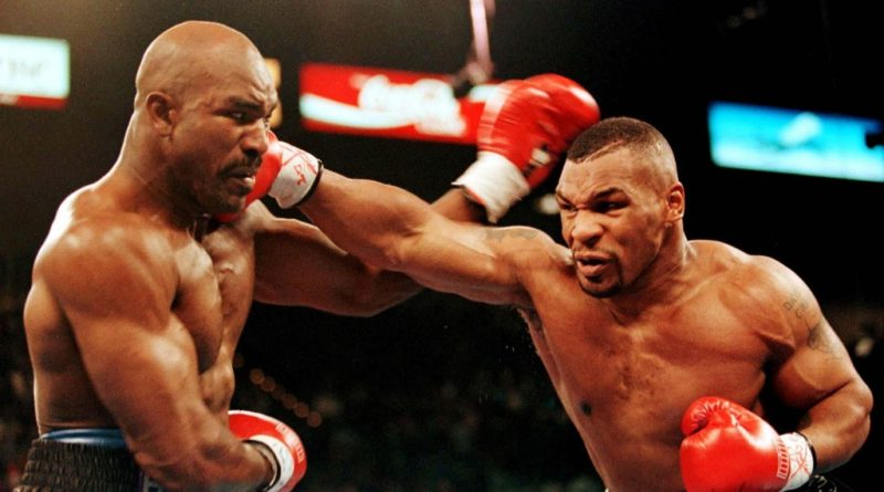 Combat de boxe anglaise Mike Tyson vs James Douglas